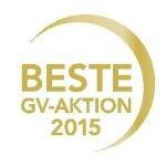 Auszeichnung gv-praxis Beste GV-Aktion 2015