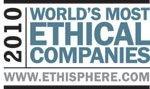 """Auszeichnung 2010 und 2014 """"World's Most Ethical Companies"""""""