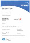 Zertifikat Zertifikat für Umweltmanagement (DIN EN ISO 14001)