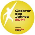 Auszeichnung Caterer des Jahres, 2004,2005,2006, 2008, 2010, 2011, 2014