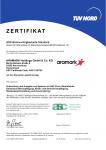 Zertifikat ASC (Aquaculture Stewardship Council)