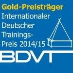 Auszeichnung Internationaler Deutscher Trainings-Preis in Gold