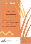 Zertifikat GfRS Zertifikat Verarbeitung, Handel ökologisch / biologische Erzeugnisse