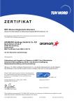 Zertifikat MSC (Marine Stewardship Council)